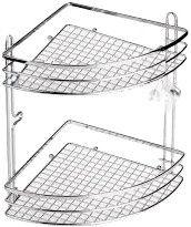 Axentia Cassandra Bathroom Shelf Angle 2-Level