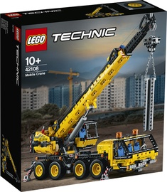 Конструктор LEGO Technic Mobile Crane 42108 42108, 1292 шт.