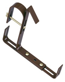 Emsa Special Railing Brackets For Window Boxes Dark Brown