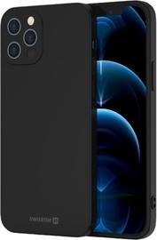 Swissten Soft Joy Silicone Case Apple iPhone 11 Pro Max Black