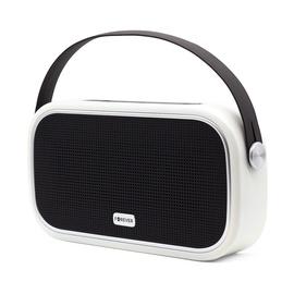 Bezvadu skaļrunis Forever UNIQ BS-660, balta/melna, 10 W