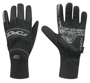 Force Windster Spring Full Gloves Black L
