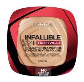 Pūderis L´Oréal Paris Infallible 140 Golden Beige P, 9 g