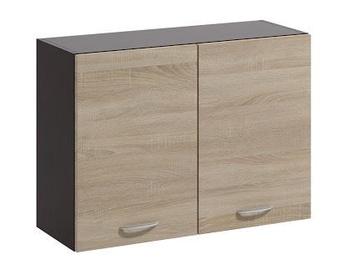 Augšējais virtuves skapītis WIPMEB Livia LV-06/G80 Sonoma Oak, 800x285x575 mm