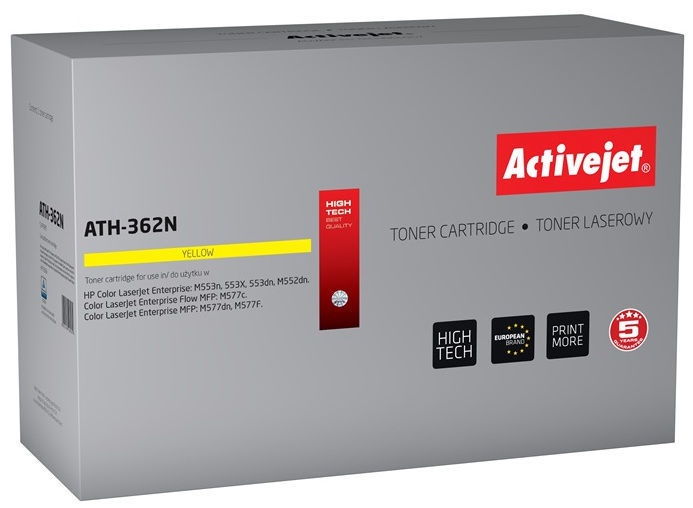 ActiveJet Toner ATH-362N Yellow