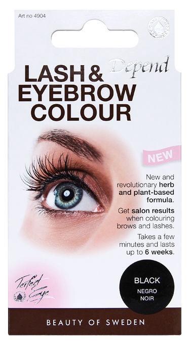 Depend Lash & Eyebrow Colour 8.5g Black