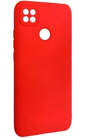 Evelatus Soft Touch Back Case For Xiaomi Redmi 9C Red