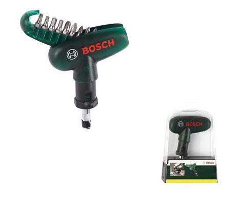 Набор насадок Bosch Screwdriver With Bit Set 10pcs