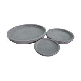 SN Pot Plate RP16-516 D26 Grey
