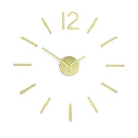 Настенные и интерьерные часы Umbra Blink Clock Brass