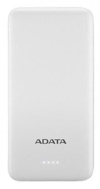 Ārējs akumulators ADATA AT10000 White, 10000 mAh