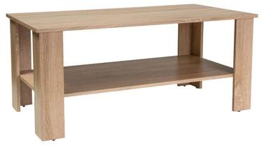 Kafijas galdiņš Signal Meble Ariel Sonoma Oak, 1100x600x500 mm
