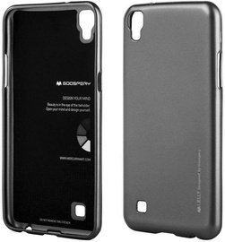 Mercury i-Jelly Back Case For Apple iPhone X Grey