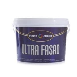 Krāsa fasādēm Pentacolor Ultra Fasad, 3 l, balta