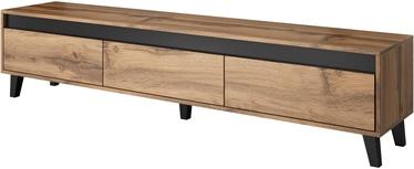 ТВ стол Cama Meble Nord, серый, 1850x380x420 мм
