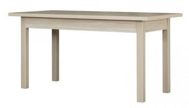 Pusdienu galds Bodzio S44, brūna, 1550x800x790mm