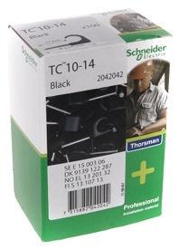 Schneider Electric Cable Clamps 10-14 Black 100pcs