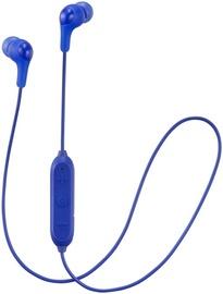 Austiņas JVC HA-FX9BT Blue, bezvadu
