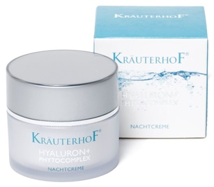 Sejas krēms Krauterhof Hyaluron + Phytocomplex Night Cream, 50 ml