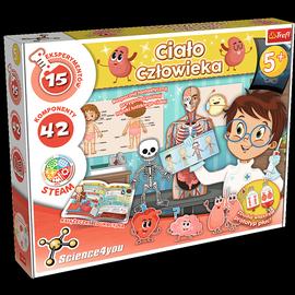 Intelektuāla rotaļlieta Trefl Human body 61531
