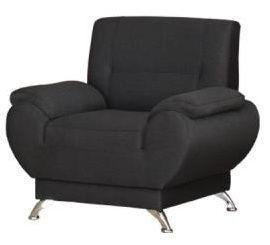 Atzveltnes krēsls Kanclers Livonia Fabric Dark Gray, 92x76x89 cm