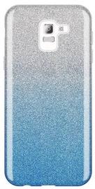 Wozinsky Glitter Shining Back Case For Samsung Galaxy J6 Blue