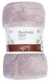 Home4you Liisa Blanket 150x200cm Light Violet