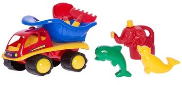 Smilšu kastes rotaļlietu komplekts 4IQ