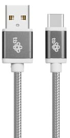 Vads TB USB To USB Type-C Cable 1.5m Grey