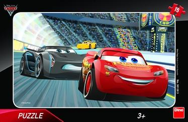 Пазл Dino Disney Pixar Cars 3 30128, 15 шт.