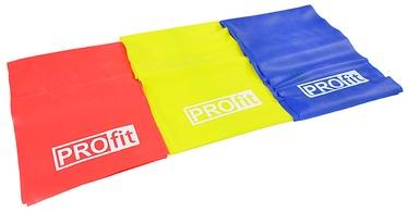 PROfit Fitness Rubber Set 200x15cm 3pcs