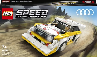 Konstruktors LEGO Speed Champions 1985 Audi Sport Quattro S1 76897, 250 gab.
