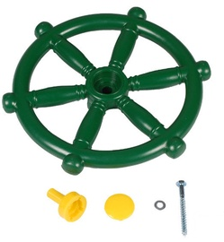 4IQ Captains Steering Wheel For Childrens Playgrounds Green