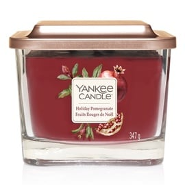Yankee Candles Elevation Collection Holiday Pomegranate 3-Wick Candle 347g