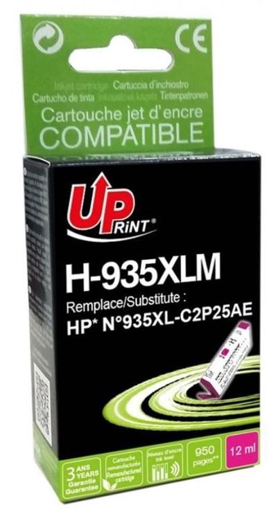 Uprint Cartridge For HP 12 ml Magenta