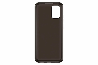 Samsung Soft Clear Back Case For Samsung Galaxy A02S Black