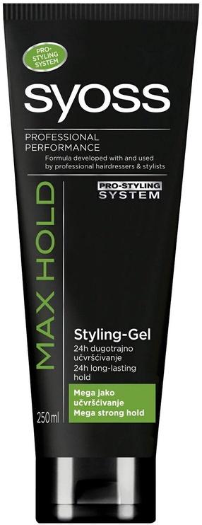 Гель для волос Syoss Max Hold Styling Gel, 250 мл