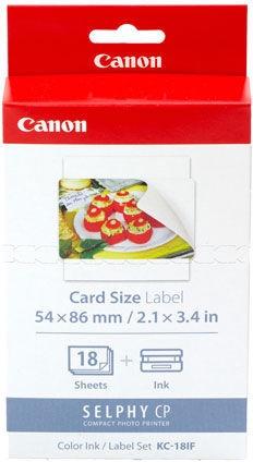 "Фотобумага Canon KC-18IF Photo Paper Glossy 2.1 x 3.4"" 18pcs"