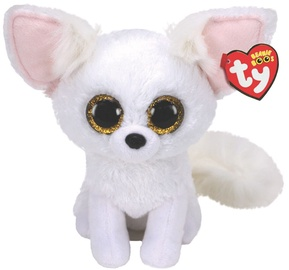 Mīkstā rotaļlieta TY Beanie Boos Phoenix Fox 36481, balta, 24 cm