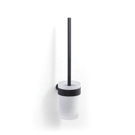 Gedy Pirenei Wall Brush Holder 8.5x36.5x11cm Black