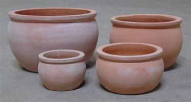 SN Ceramic Flower Pot TP13-065 D23cm Brown