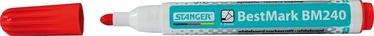 Stanger BestMark BM240 Whiteboard Marker 10pcs Red 321031