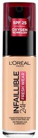 Tonizējošais krēms L´Oréal Paris Infaillible 24h Fresh Wear Rose Sand, 30 ml