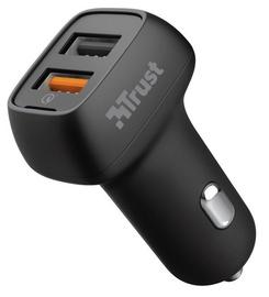 Trust Qmax 30W Ultra-Fast Dual USB Car Charger with QC3.0