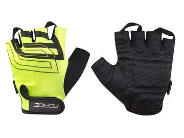 Force Sport Short Gloves Yellow S