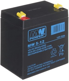 MW Power MW 5-12 UPS Battery 12V 5Ah