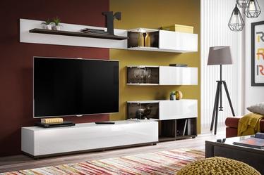 Dzīvojamās istabas mēbeļu komplekts ASM Silk White/Perla Elm