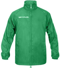 Givova Basico Rain Jacket Green 2XL