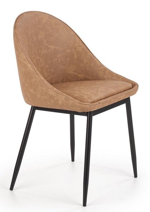Ēdamistabas krēsls Halmar K406 Brown, 1 gab.