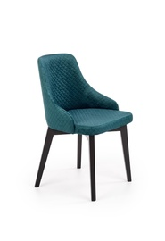 Ēdamistabas krēsls Halmar Toledo 3 Green/Black